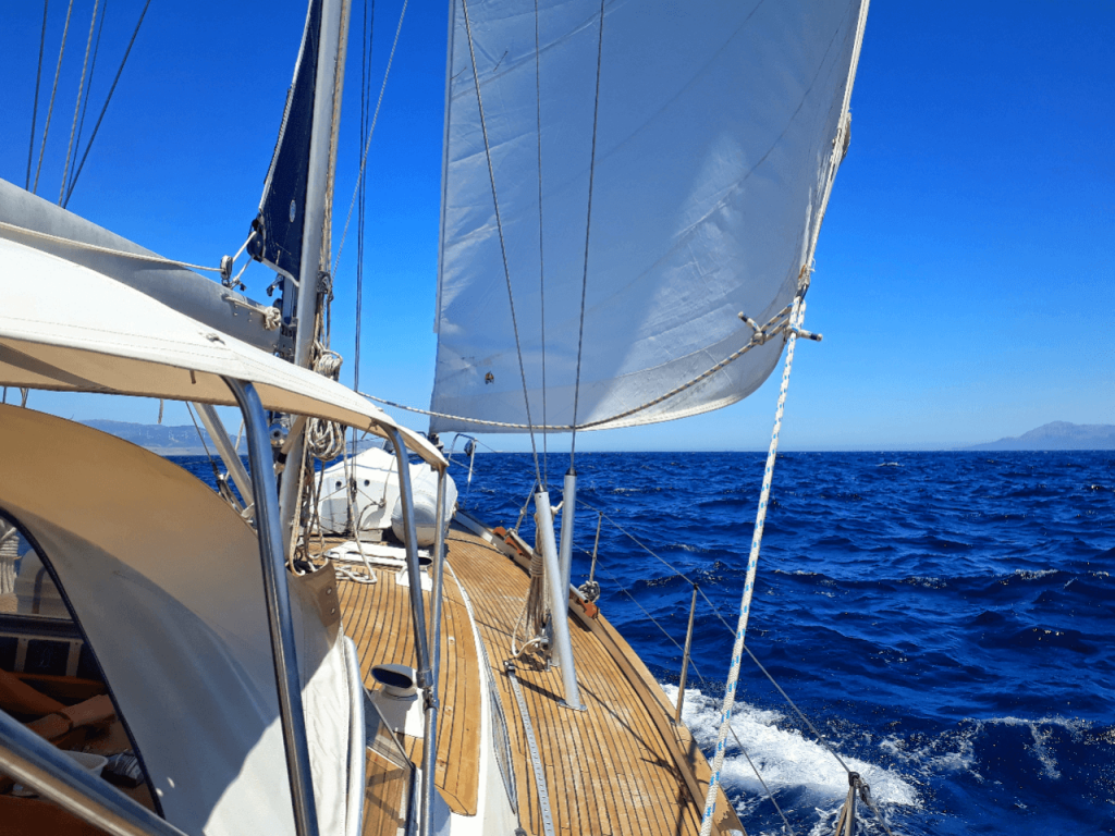 sailing the med