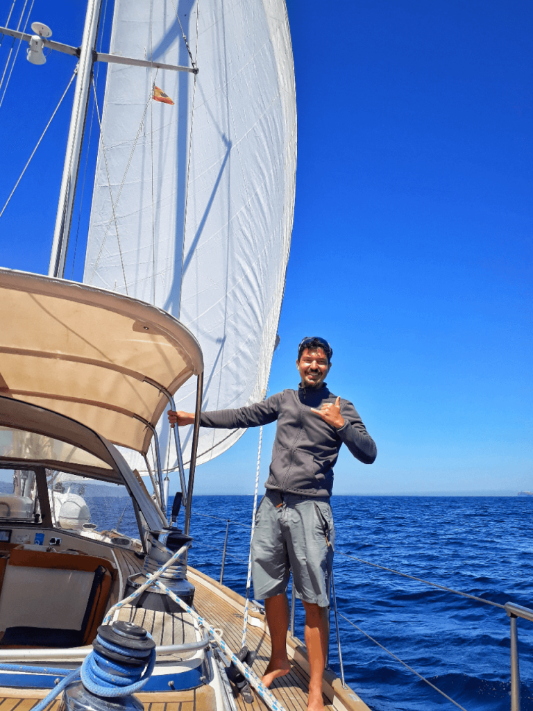 how to go sailing